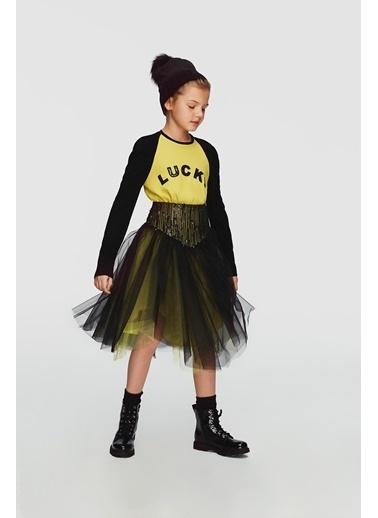 Lia Lea Kız Çocuk Siyah Etek 20Fwll07279 Siyah